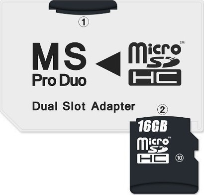 Connect IT CI-49 adaptér MS PRODUO MicroSD