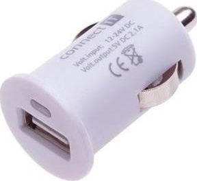 Connect IT CI-588 CAR adaptér USB 2,1A bílý