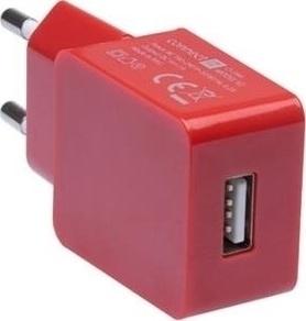Connect IT CI-594 adaptér 230 1xUSB1A RD