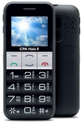 CPA Halo 8 Senior černý