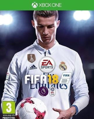 EA FIFA 18 hra XONE
