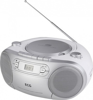 ECG CDR 888 USB Silver