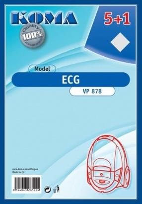 ECG Koma VP 878