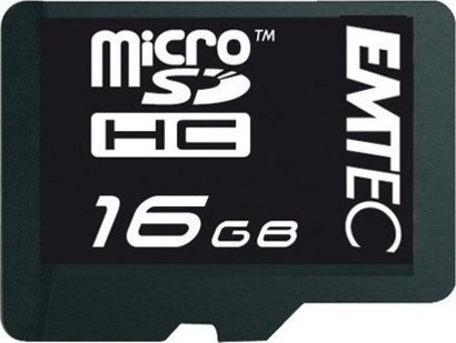 Emtec Micro SD 16GB 60x HC