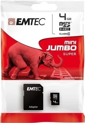 Emtec Micro SD 4GB 60x HC