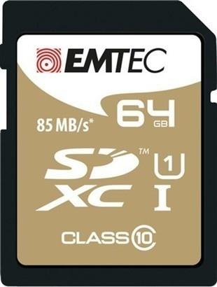 Emtec SDHC 64GB Gold+Class 10