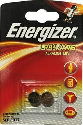 Energizer A76/LR44/V13GA 2BP Alk