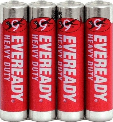 Energizer BAT E.Red R03/4 Shrink 4xAAA
