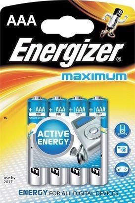 Energizer BAT Maximum ALK LR03/4 4xAAA