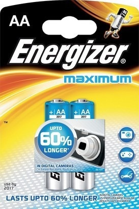 Energizer BAT Maximum ALK LR6/2 2xAA