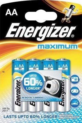 Energizer BAT Maximum ALK LR6/4 4xAA