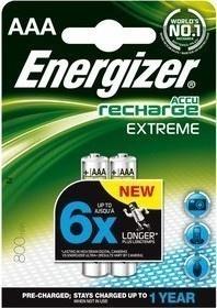 Energizer BAT NiMH EXT 800 mAh 2xAAA