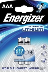 Energizer BAT ULTIMATE LITH FR03/2 2xAAA