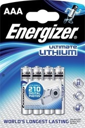 Energizer BAT ULTIMATE LITH FR03/4 4xAAA