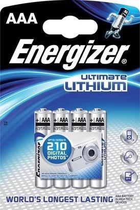 Energizer BAT ULTIMATE LITH FR03/4 4xAAA