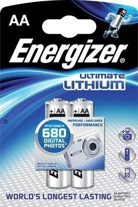Energizer BAT ULTIMATE LITH FR6/2 2xAA