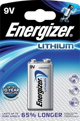 Energizer BAT ULTIMATE LITH LA522 1x9V