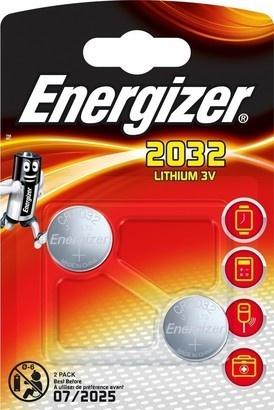 Energizer CR2032 2BP Li
