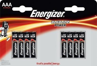 Energizer LR03 4+4BP AAA FP Alk