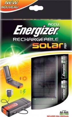 Energizer Solární nabíječka + 2xAA 2000 mAh