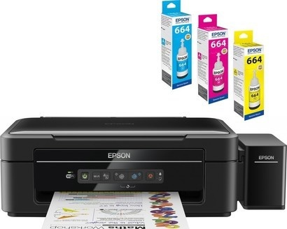 Epson L386 + 3x barevné inkousty
