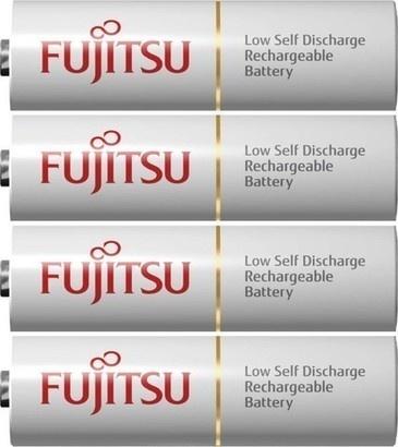 Fujitsu HR-3UTCEX-4B White AA 4x