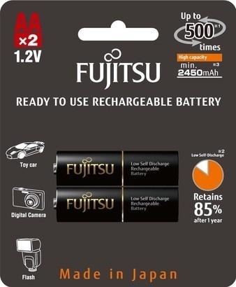 Fujitsu HR-3UTHCEX-2B Black PROFI AA 2x