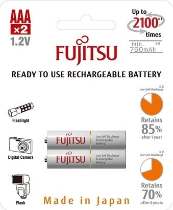 Fujitsu HR-4UTCEX-2B White AAA 2x