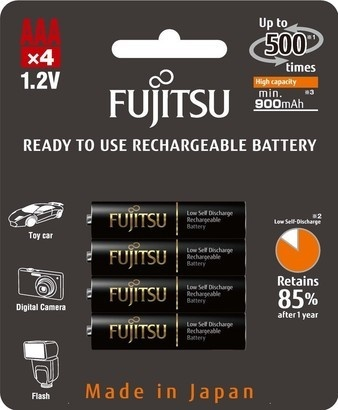 Fujitsu HR-4UTHCEX-4B Black PROFI AAA 4x