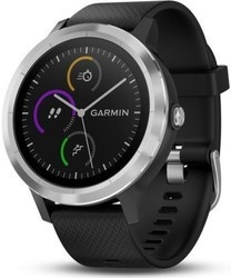 Garmin vívoActive3 Optic Silver Black b