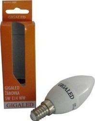 Gigaled E14 5W teplá bílá GL-E14-5-380W