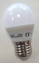 Gigaled E27 5W studená bílá GL-G45-27-5C
