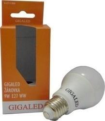 Gigaled E27 9W teplá bílá GL-E27-9-780W
