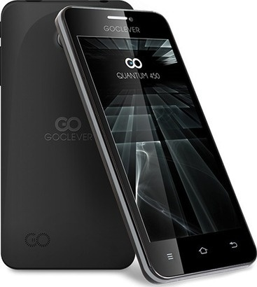 GoClever Quantum 450 LITE Dual SIM černá