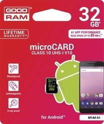 Goodram MicroSDHC 32GB CL10 for Android