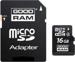 Goodram MicroSDXC 64GB CL10 UHS1 + adaptér