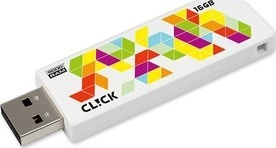 Goodram USB FD 16GB CL!CK White USB 2.0