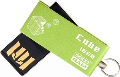 Goodram USB FD 16GB CUBE Green