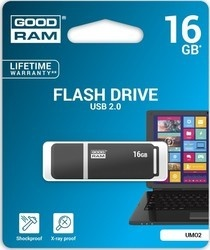 Goodram USB FD 16GB UMO graphite USB 2.0