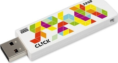 Goodram USB FD 32GB CL!CK White USB 2.0