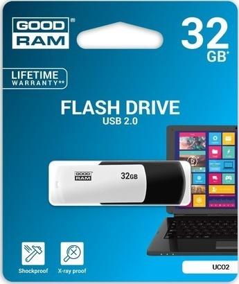 Goodram USB FD 32GB UCO black & white
