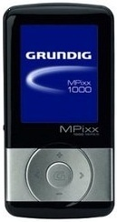Grundig MPIXX 1200 Black/Chrome