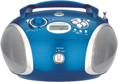 Grundig RCD 1420 MP3 blue