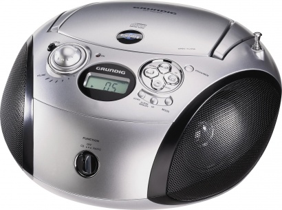 Grundig RCD 1420 MP3 chrome/black