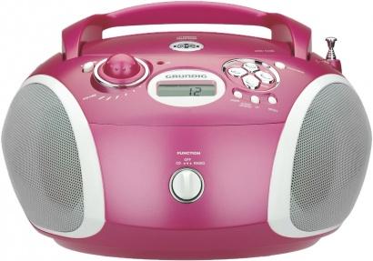 Grundig RCD 1420 MP3 pink