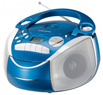 Grundig RRCD 2700 MP3 NEOS BLUE