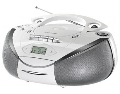 Grundig RRCD 3700 MP3 WHITE/SILVER