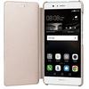 Huawei flipove pouzdro pro p9 lite gold 100x100