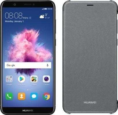 Huawei P Smart + Flip pouzdro Black