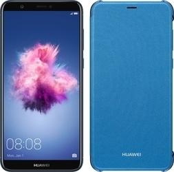 Huawei P Smart + Flip pouzdro Blue